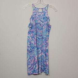 Lilly Pulitzer Billie Ruffle Tank  Dress Size S